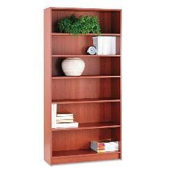 HON 1870 Series 72-inch Laminate Bookcase - Cherry
