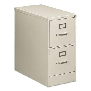 HON 210 Series 2-Drawer Suspension File Cabinet (Light Gray)