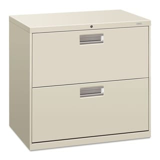 HON 600 Series Light Grey 2-drawer Lateral File