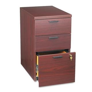 HON 10500 Series 2-Drawer Pedestal File Cabinet - Mahagony