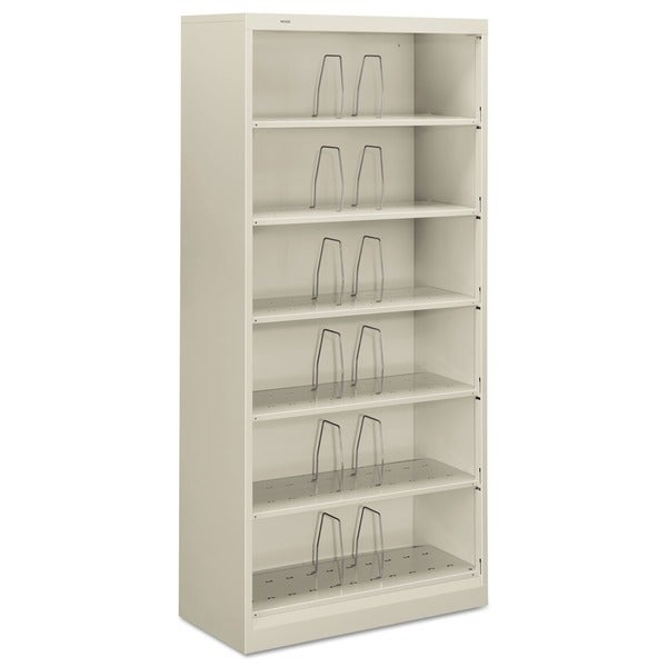HON 600 Series 6-shelf Legal Open Shelf File Cabinet
