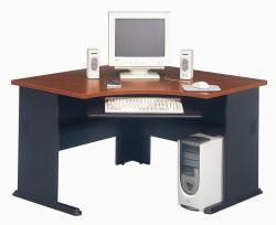 Advantage Collection Cherry Corner Desk