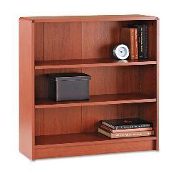 HON 1890 Series 3-Shelf Laminate Bookcase - Cherry