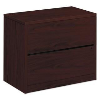 HON 10500 Series Mahogany 36 x 20 x 29 1/2 2-drawer Lateral File