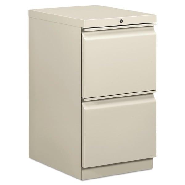 HON Efficiencies 19-inch Deep 2-Drawer Pedestal File Cabinet