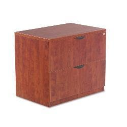Alera Valencia Series Medium Cherry 2-drawer Lateral File