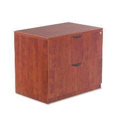 Alera Valencia Series Medium Cherry 2-drawer Lateral File