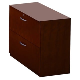 Creative Corsica 2-Drawer Lateral File Cabinet - Mahogany