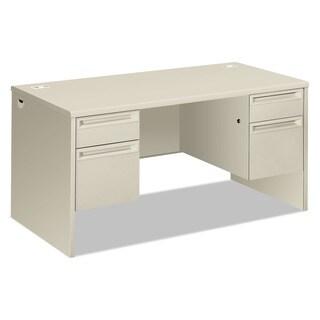 HON 3800 Series Double Pedestal Desk