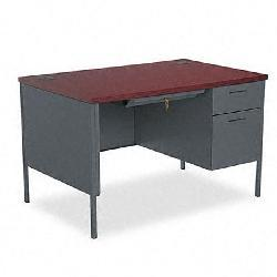 HON Metro Classic Series 48-inch Right Pedestal Desk