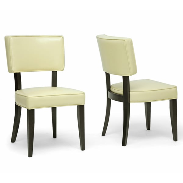 Veronica Cream Dining Chairs (Set of 2)