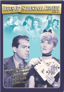 Icons of Screwball Comedy Vol 1 (DVD)