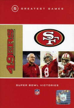 NFL San Francisco 49ers 5 Greatest Games Super Bowl Victories (DVD)