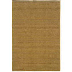 "Beige Polypropylene Laguna Indoor/Outdoor Rug (3'7"" x 5'6"")"