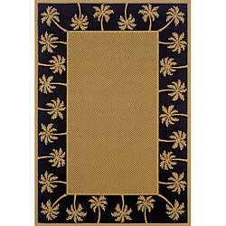 Polypropylene Laguna Indoor/ Outdoor Rug (3'7 x 5'6)