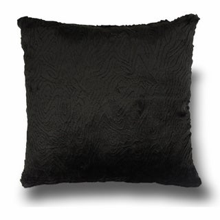 Faux Fur 18-inch Pillow