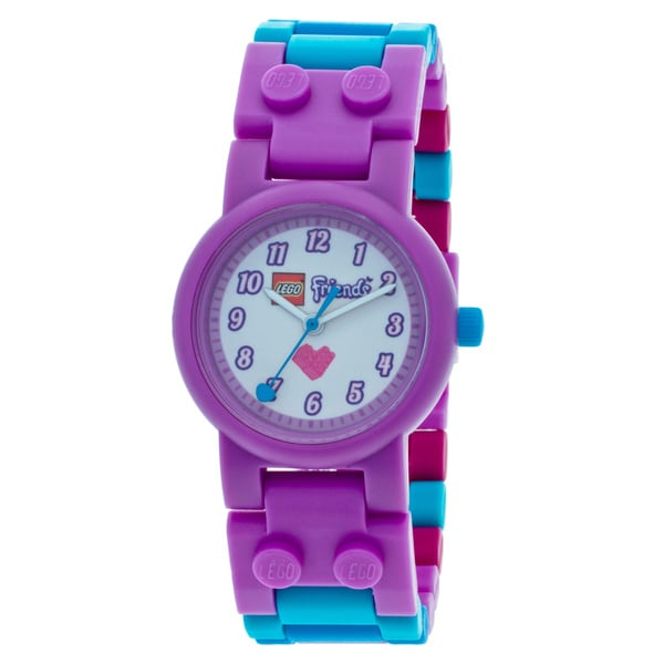 LEGO Friends Olivia Kid's Interchangeable Links w/Mini Doll Watch