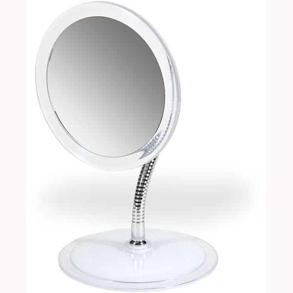 Floxite 9x/1x Goosneck Magnifying Mirror
