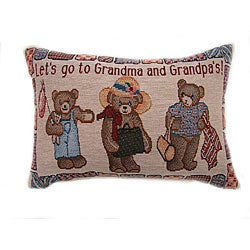 Let's Go Tapestry Throw Pillow (Set of 2)