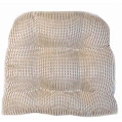 Pinstripe Indoor Wicker Chair Cushion