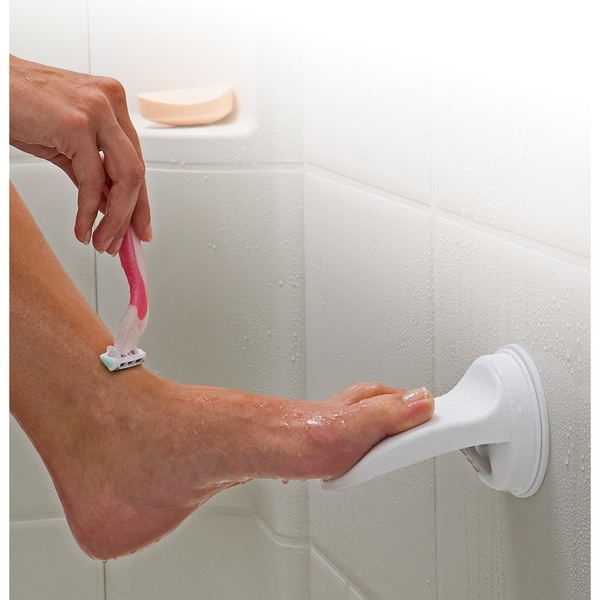 Safe-er-Grip 6.5-inch Shower/Bath Foot Rest (Pack of 2) 5417524