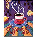 Rhonda Ahrens 'Espresso' Canvas Art