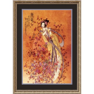 'Goddess of Prosperity' Framed Art Print