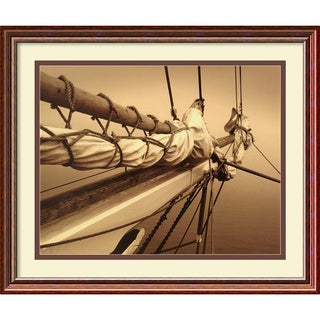 Frederick J. LeBlanc 'Breaking the Mist II' Framed Art Print
