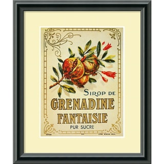 'Grenadine Fantaisie' Framed Art Print