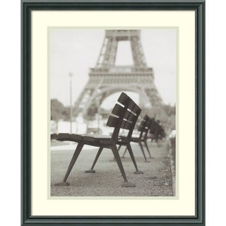 Teo Tarras 'Rendezvous a Paris' Framed Art Print