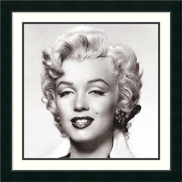 Corbis 'Marilyn Monroe Portrait' Framed Art Print