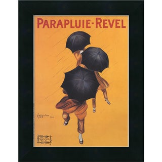 Leonetto Cappiello 'Parapluie-Revel (ca. 1922)' Framed Art Print