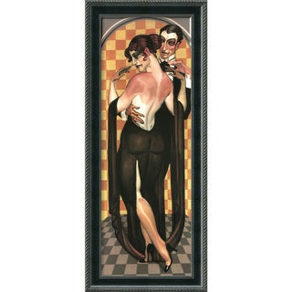 Juarez Machado 'Art Deco Evening' Framed Art Print