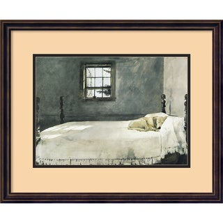 Andrew Wyeth 'Master Bedroom' Framed Art Print