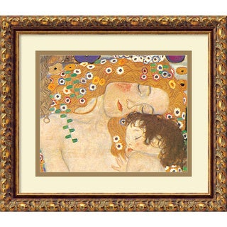 Klimt 'Three Ages of Woman (Detail IV), 1905' Framed Art Print