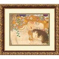 Klimt &#39;Three Ages of Woman (Detail IV), 1905&#39; Framed Art Print