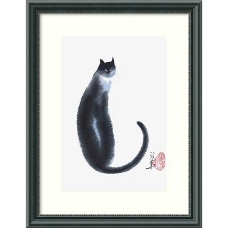 Cheng Yan 'Chinese Cat II' Framed Art Print