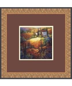 Nancy O'Toole 'Morning Light Tuscany' Framed Art Print