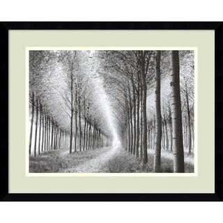 Chip Forelli 'Tree Parade (c. 2003)' Framed Art Print