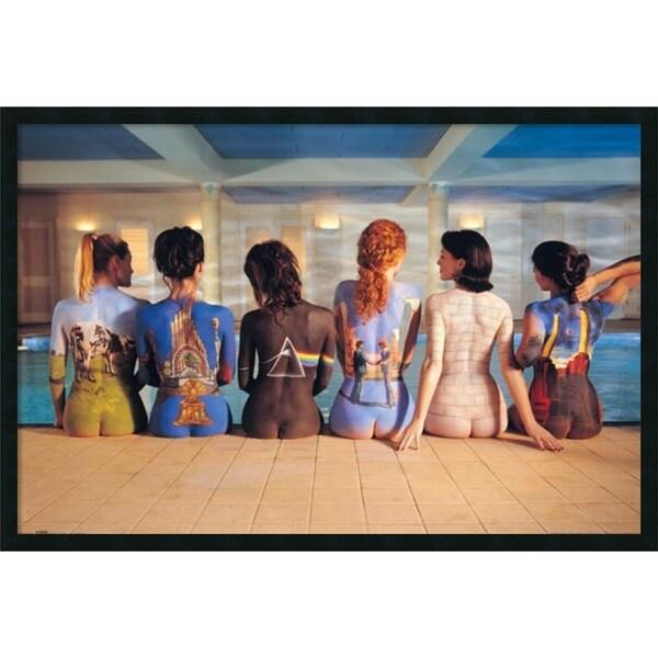Pink Floyd Back Catalog' Framed Art Print with Gel Coated Finish