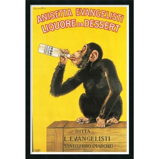Biscaretti 'Anisetta Evangelisti Liquore da Dessert (c. 1925)' Art