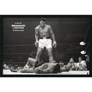 Ali - Liston Landscape' Framed Art Print with Gel Coated Finish