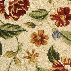 Safavieh Hand-hooked Boni Ivory/ Beige Wool Rug (2'9 x 4'9)