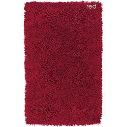 Set of 3 Hand-woven Felicia Red Rugs (2' x 3')