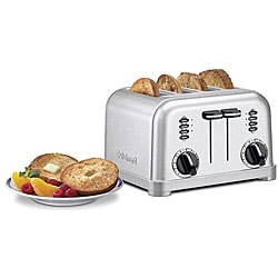Cuisinart CPT-180FR 4-slice Brushed Chrome Toaster (Refurbished)