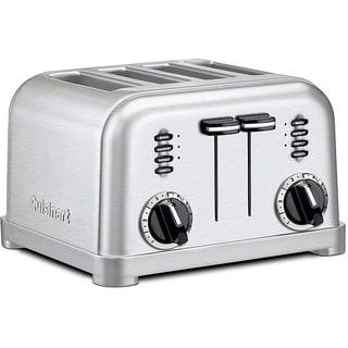 Cuisinart CPT-180FR 4-slice Brushed Chrome Toaster (Refurbished)
