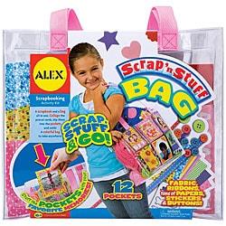 Alex Toys 'Scrap 'n Stuff Bag' Scrapbooking Kit