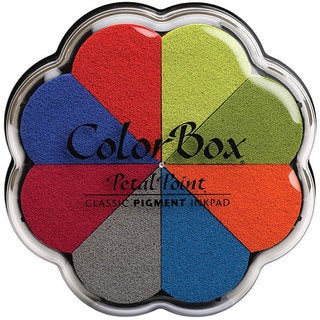 ColorBox Petal Point 'Beach Ball' Pigment Inkpad