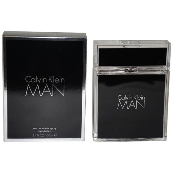 Calvin Klein Man 3.4-ounce Eau de Toilette Spray