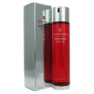 Swiss Army 'For Her' Women's 3.4-ounce Eau de Toilette Spray